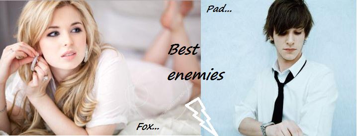 """Best enemies - """"Perfekt sein ist nicht alles, Rumtreiberin."""""""