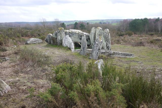 Site mégalithique de Saint-just, Four Sarrazin allée couverte