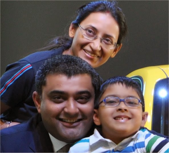 Anil, Dhruv and Ritu
