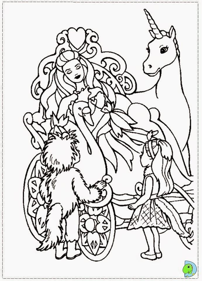 Dinokids desenhos para colorir desenhos da barbie e o for Coloring pages lake