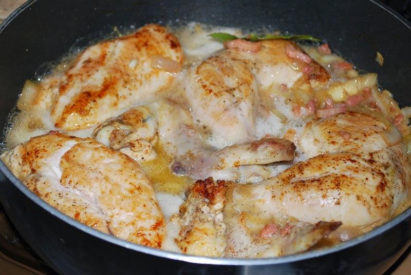 Pollo al Estragón