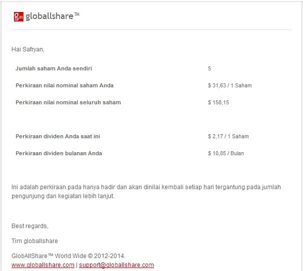 mail dari globallshare