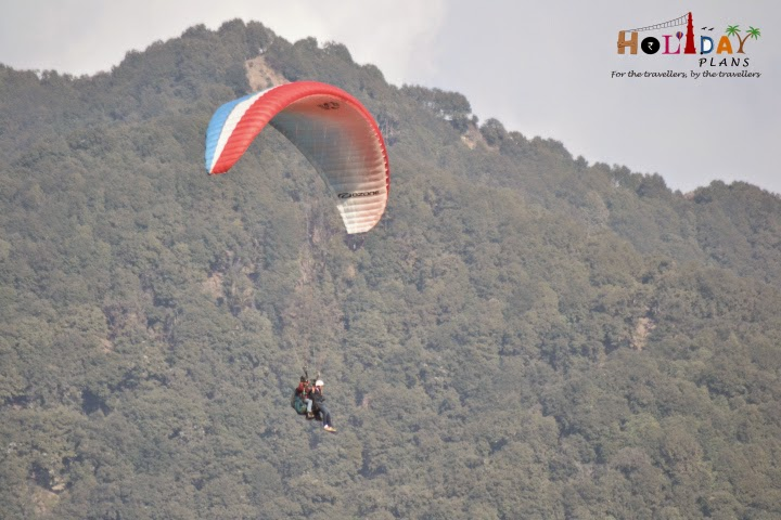Gaurav is enjoying Paragliding at fullest
