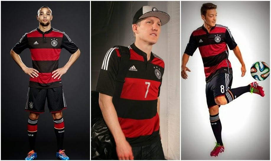 Germany World Cup 2014 adidas Away Football Kit Design