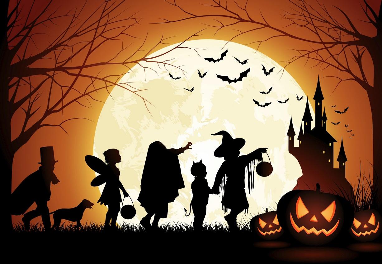 group of download happy halloween