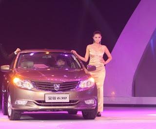 ゼネラルモーターズ2012年9月の中国市場における自動車販売