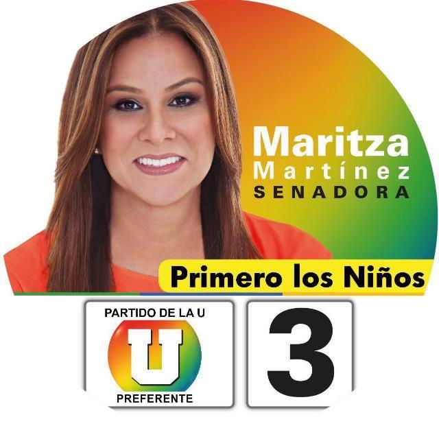 MARITZA MARTINEZ SENADORA
