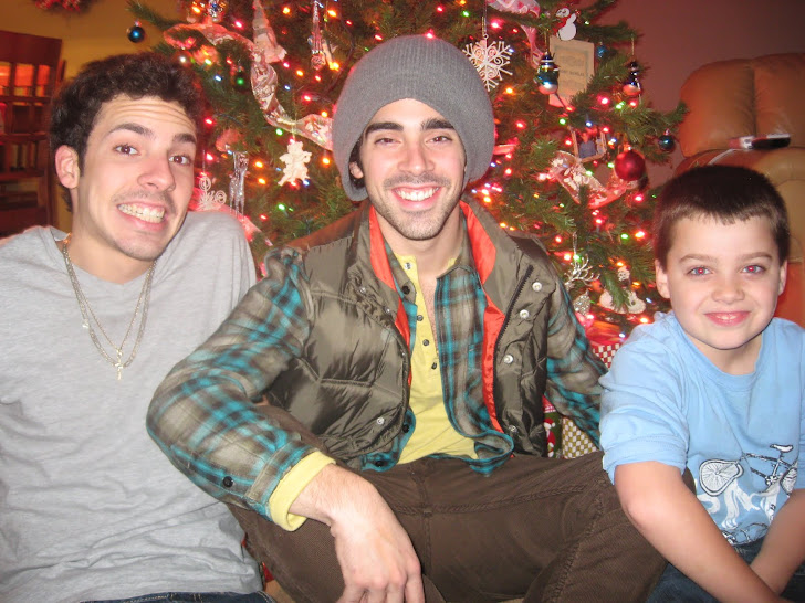 Nick, Alfonso and Chad