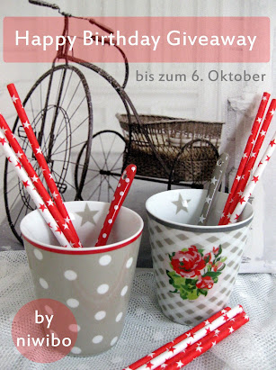 Happy Blog-Birthday Give Away bei Nicole (Niwibo)