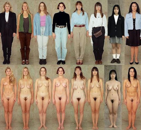 mulheres amadoras com e sem roupa