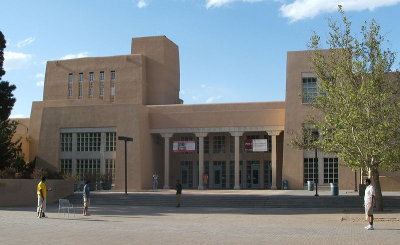 Zimmerman Library, UNM, University of New Mexico