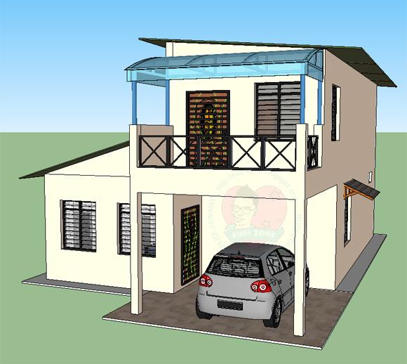 design rumah idaman ku rudi zone