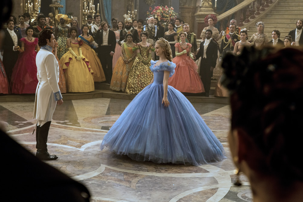 Disney's Cinderella (2015) Movie Stills - The Blue Ballgown