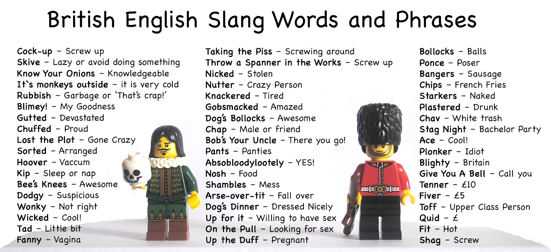 British slang hook up