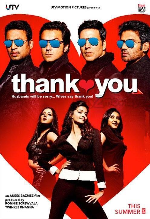 thank you movie poster. thank you movie poster. thank