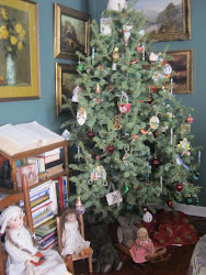 Grannie's Tree and Some of her Beloved Dolls!