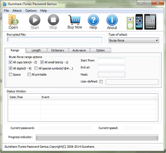 unlock iPod backup with iTunes Password Genius