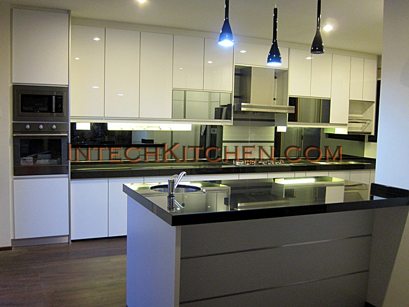 Intech Kitchen Sdn Bhd : Our new 4G door series for kitchen cabinet