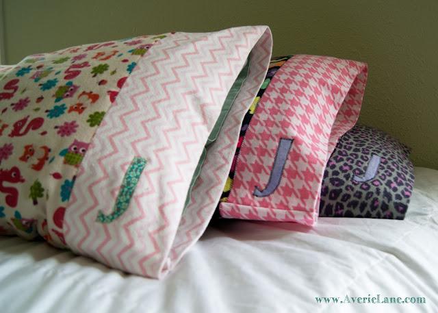 Diy Custom Pillowcases Averie Lane Diy Custom Pillowcases
