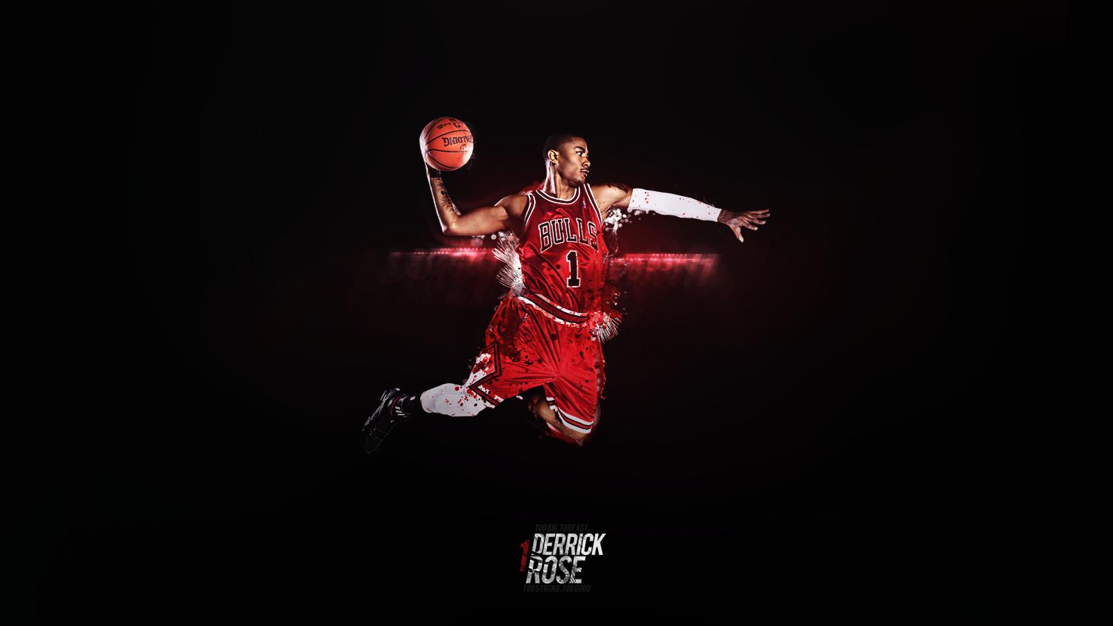Derrick Rose Dunk Wallpaper 2011 2 Basketball Wallpaper