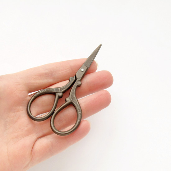 small scissors, маленькие ножницы