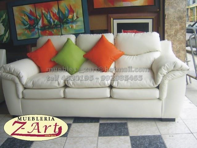 Sala e 3 muebles salas confortables for Mueblerias de maldonado