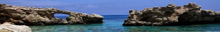 Η παραλία Τρυπητή στο νησί της Γαύδου