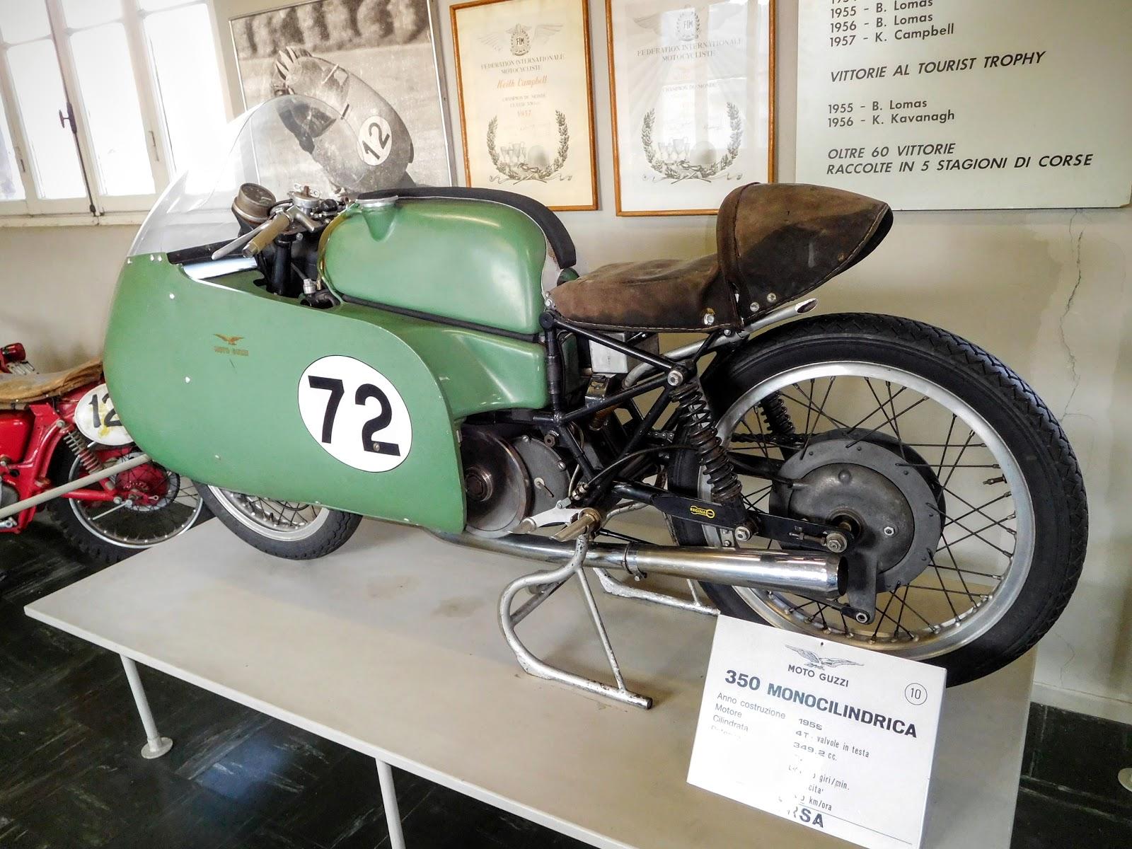 Tigho NYDucati:  1956 Moto Guzzi 350 Monocilindrica