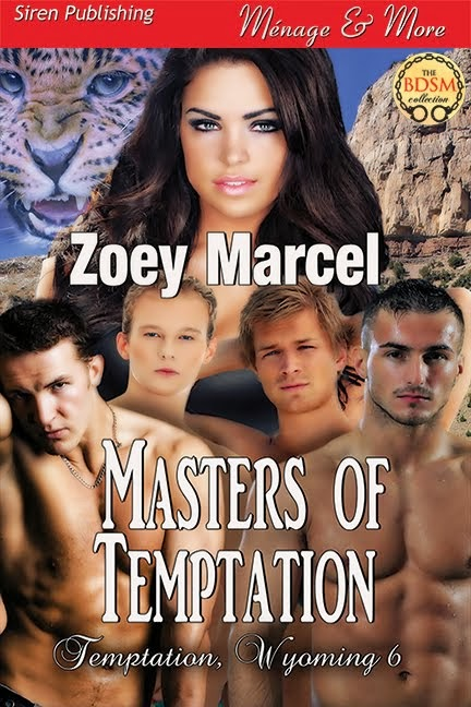 Masters of Temptation (Temptation, Wyoming 6)