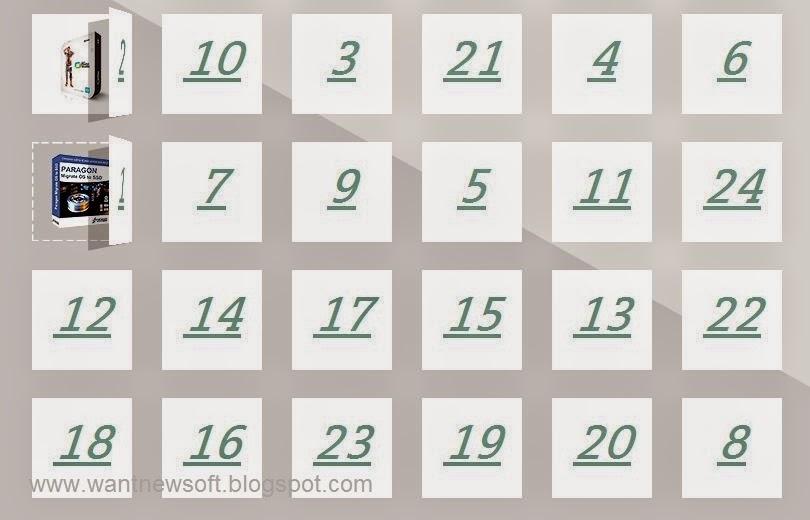 Chip.de XMAS Calendar 2014 Daily Giveaways Offers image