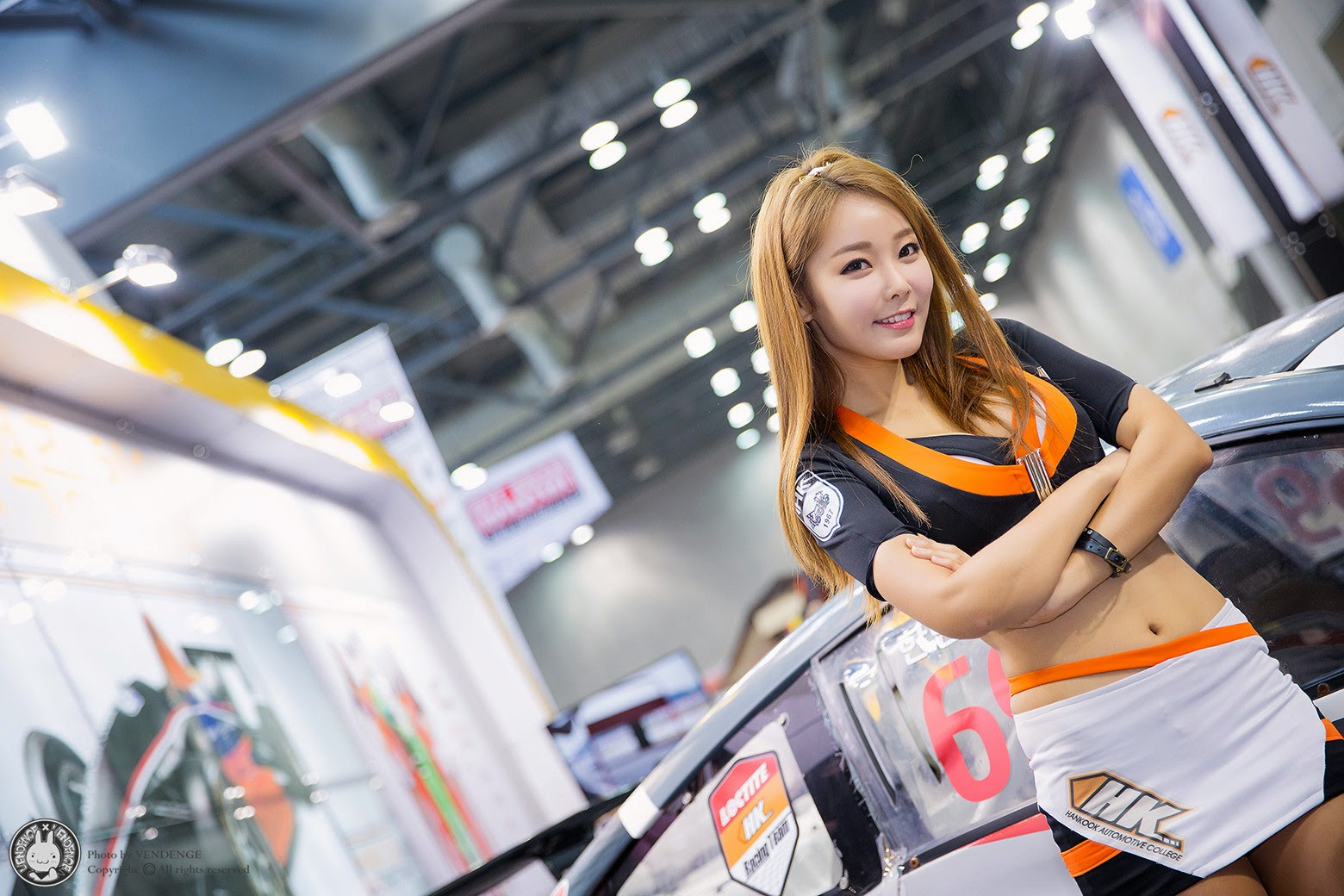 1 Lee Da Hee - Automotive Week 2014 - very cute asian girl-girlcute4u.blogspot.com