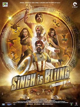 Singh Is Bling 2015 Hindi DVDScr 350mb