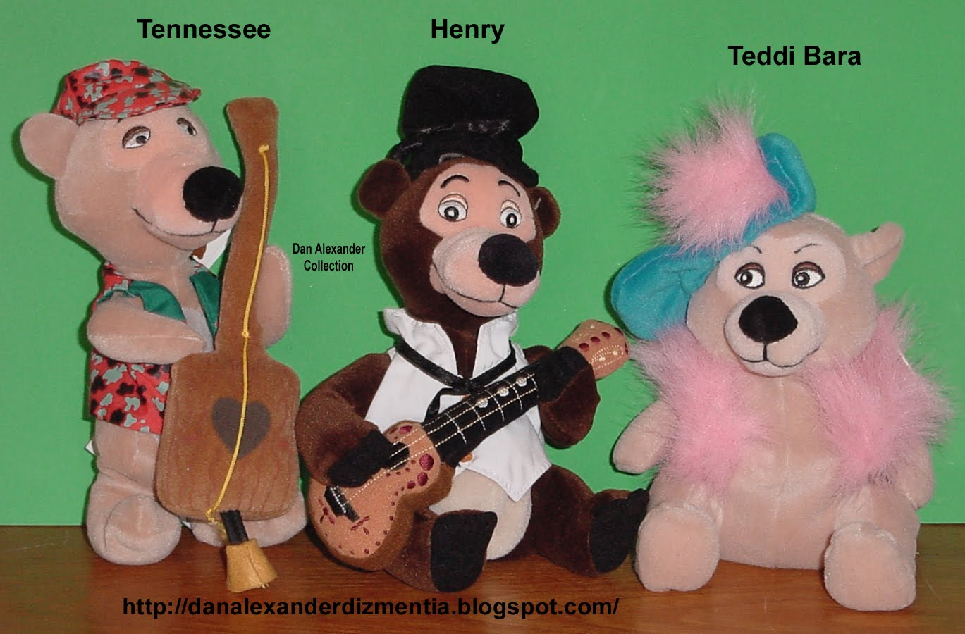 Henry is the master of ceremonies for the country bears in the