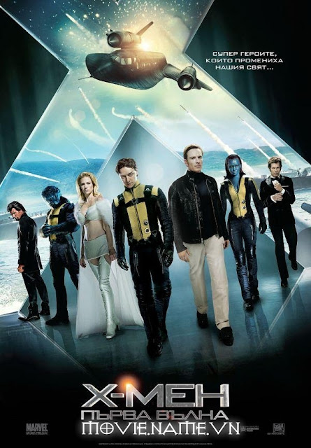 X-Men: First Class , Dị Nhân: Thế Hệ Đầu Tiên (2011), DVDRIP Sub Việt [4share]