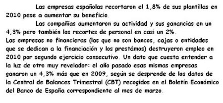 RECORTARON EMPLEO, NO BENEFICIOS