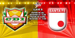 Partido Santa Fe Vs Itagüi Ditaires - Cuartos de Final