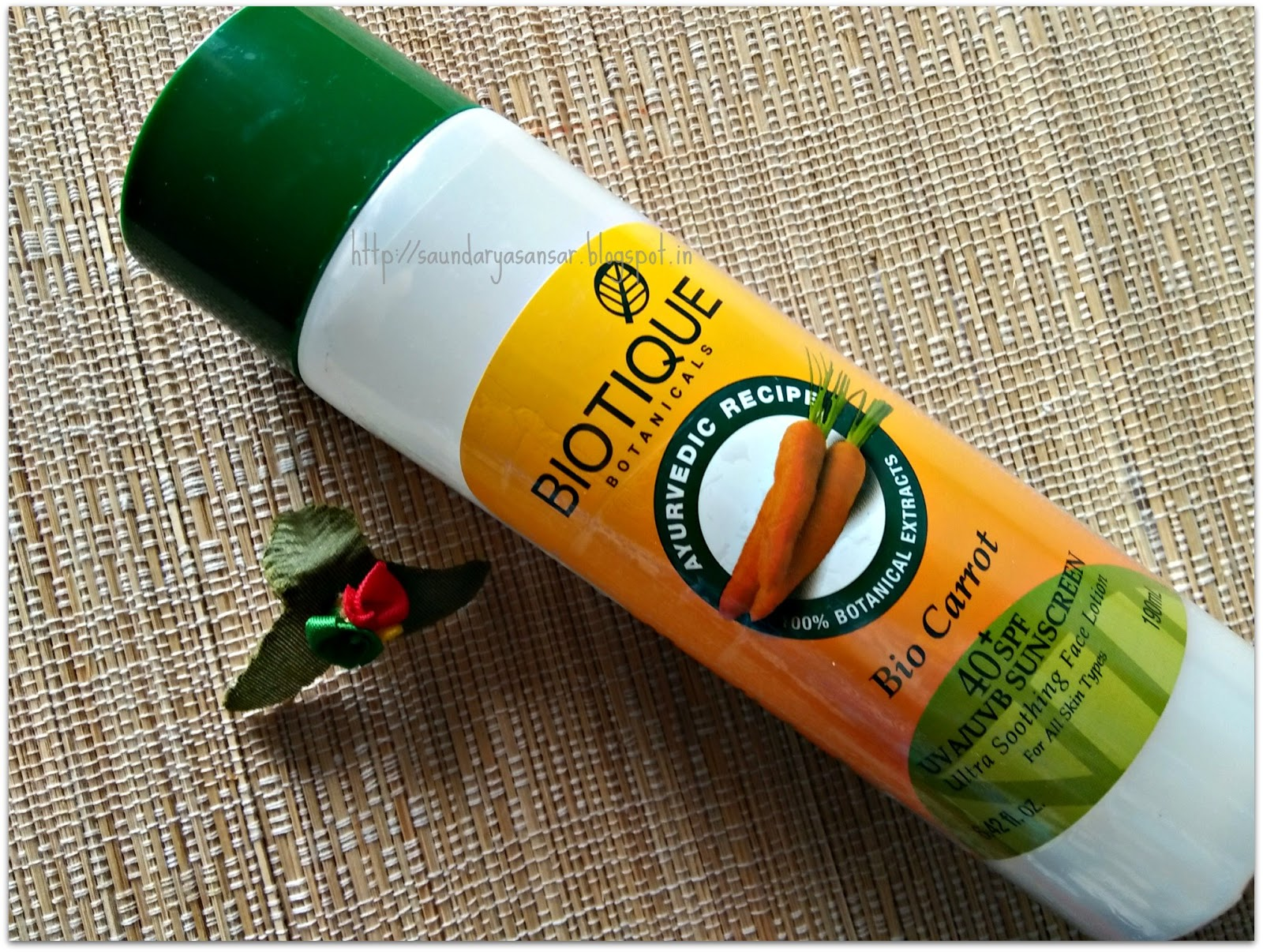 beauty and fashion obsessions biotique botanicals bio carrot 40