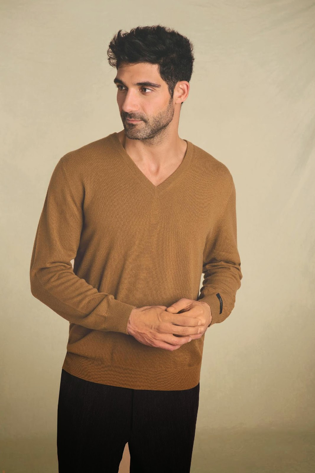 luxurious vicuña sweater