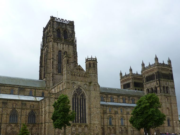 Carla Nayland Historical Fiction: Durham Cathedral