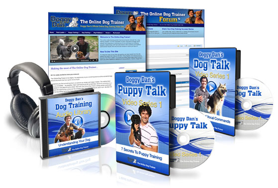 Get full access to Doggy Dan's Online Dog Trainer