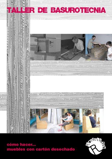 BASUROTECNIA: Cómo hacer muebles con cartón