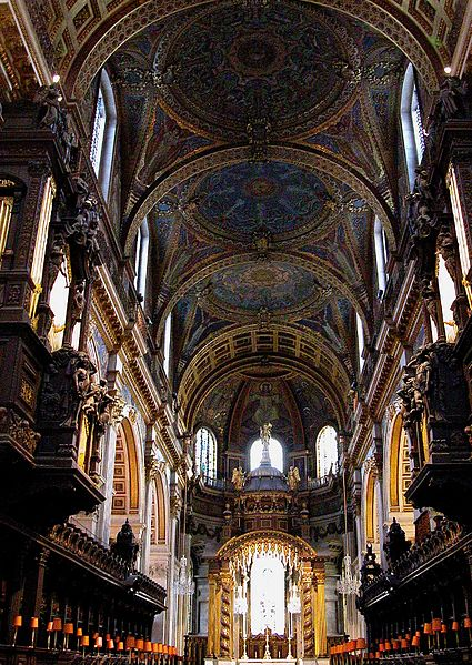 Interior of St Paul's Cathedral - London 2012, UK | Travel London Guide