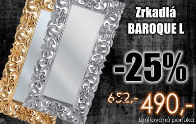 Luxusne zrkadla na stenu, zavesne zrakadla v barokovom style