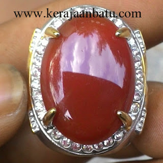 NATURAL RED CARNELIAN CHALCEDONY KODE KB205
