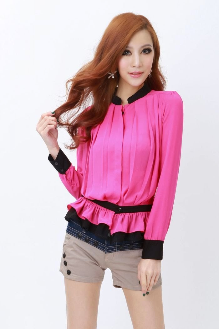 blouse wanita modern