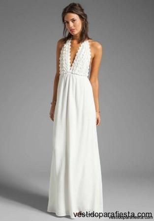 Vestidos blancos de fiesta ibicenca