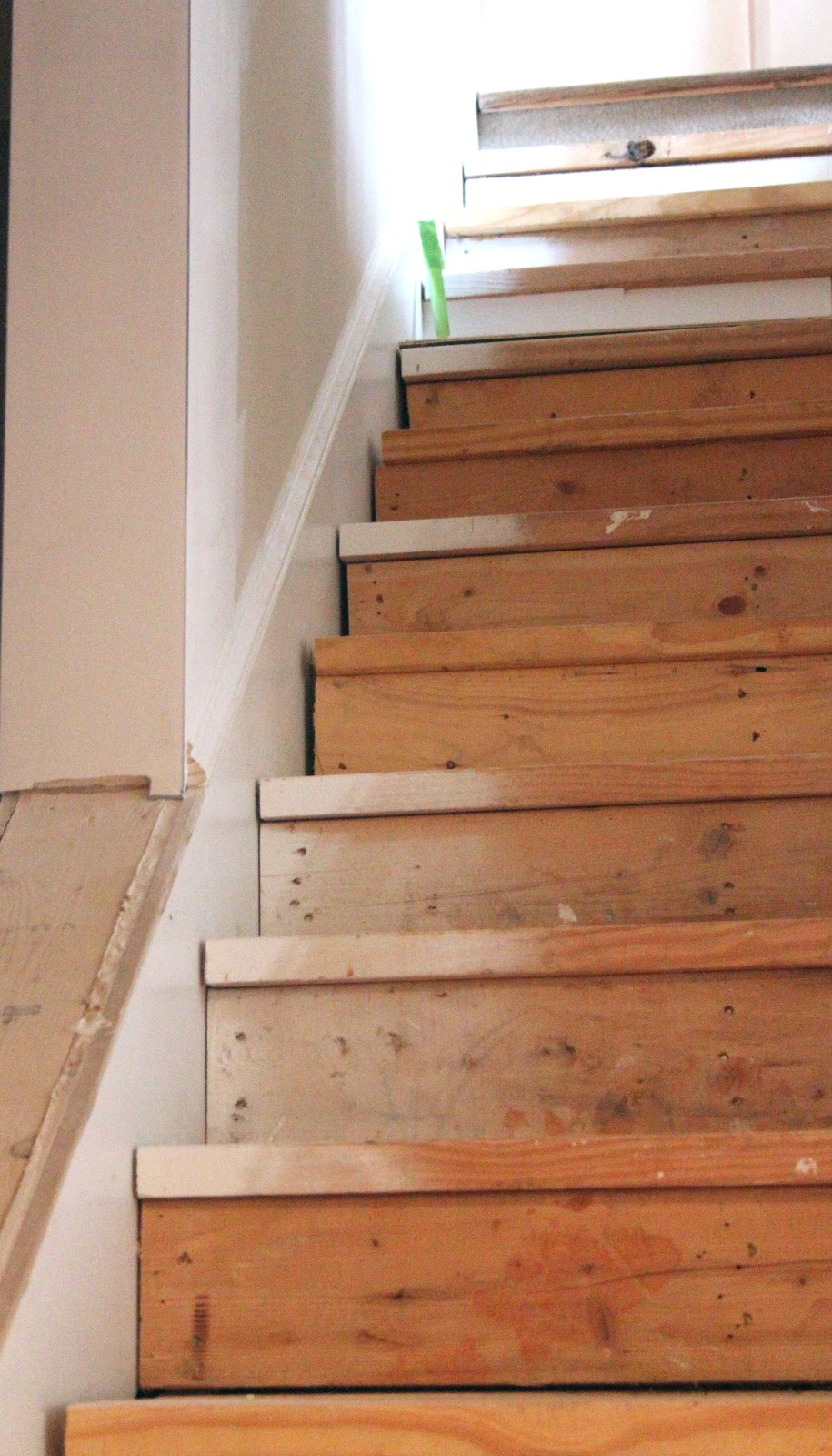 Redo Stairs Cheap My Enroute Life Ugly Basement Stairs Update