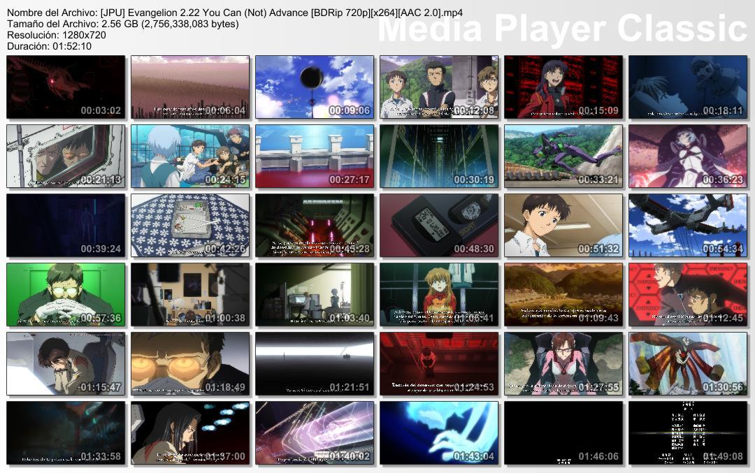 Resultado de imagen para Evangelion saga Capturas