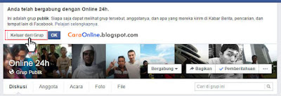 Cara mengatasi undangan join grup facebook tidak jelas1