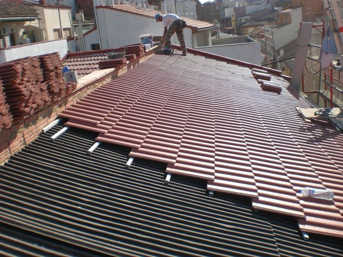 Rehabilitación integral de tejado